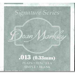 0 DEAN MARKLEY - Corda singola per Chitarra Elettrica Plain Steel, .013