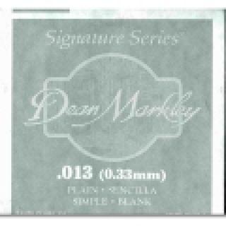 1 DEAN MARKLEY - Corda singola per Chitarra Elettrica Plain Steel, .013