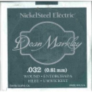 1 DEAN MARKLEY - Corda singola per Chitarra Elettrica Nickel Wound, .032