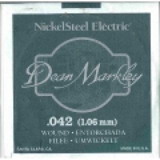 1 DEAN MARKLEY - Corda singola per Chitarra Elettrica Nickel Wound, .042