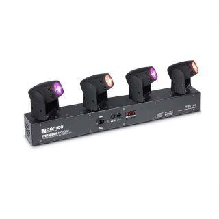 Cameo Hydra Beam 400 RGBW - Barra con 4 Teste Mobili Quad-LED RGBW CREE 10W