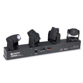 Cameo Hydra Beam 400 RGBW - Barra con 4 Teste Mobili Quad-LED RGBW CREE 10W02