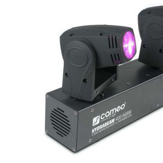 Cameo Hydra Beam 400 RGBW - Barra con 4 Teste Mobili Quad-LED RGBW CREE 10W05