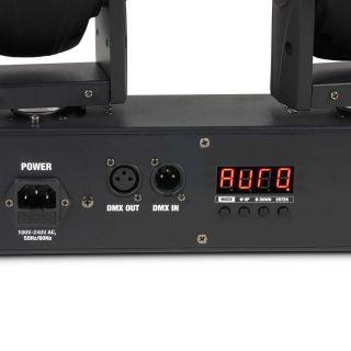 Cameo Hydra Beam 400 RGBW - Barra con 4 Teste Mobili Quad-LED RGBW CREE 10W03
