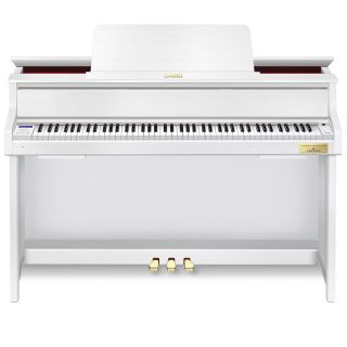 1 Casio Celviano Grand Hybrid GP-310BK Pianoforte Digitale 88 Tasti Bianco