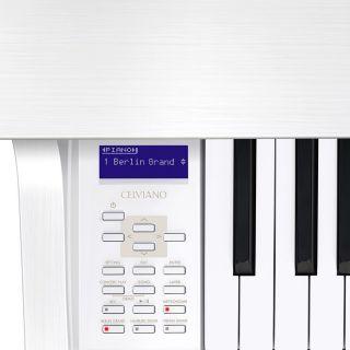 3 Casio Celviano Grand Hybrid GP-310BK Pianoforte Digitale 88 Tasti Bianco