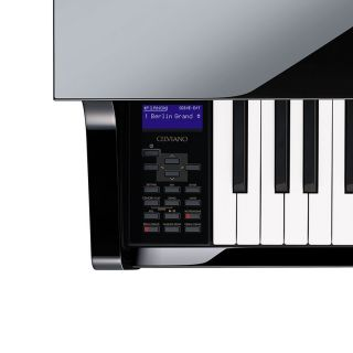 4 Casio Celviano Grand Hybrid GP-510BP Pianoforte Digitale 88 Tasti Nero Lucido