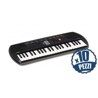 CASIO SA77 Tastiera 44 Tasti Mini Bundle Speciale Scuola