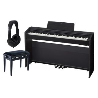 Casio Privia PX 870 Black Home Set - Pianoforte Digitale / Panchetta / Cuffie