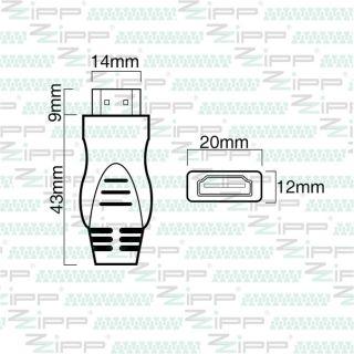 ZZIPP Cavo HDMI 2.0 Ultra HD Connect Maschio/Maschio 10mt