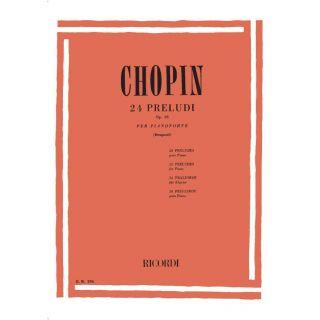 chopin 24 preludi op28