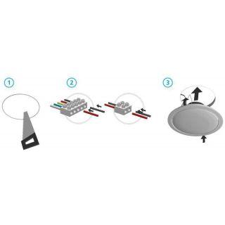 APART CM4T - installazione