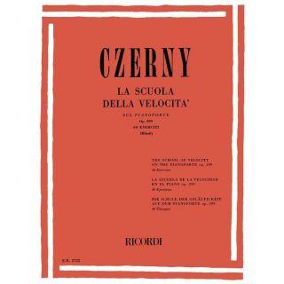 Czerny La scuola della velocità sul pianoforte