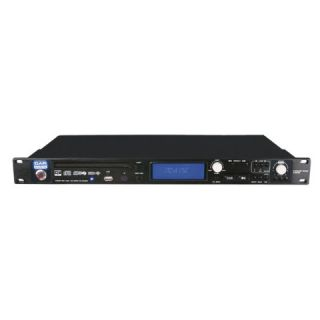 Lettore cd, mp3 e usb professionale da rack standard.