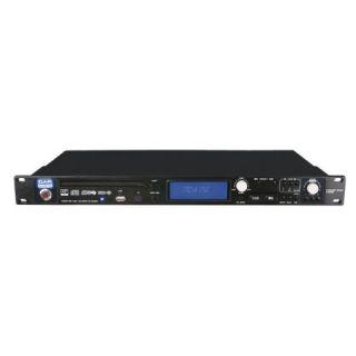 Lettore cd, mp3 e usb professionale da rack standard.