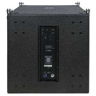 DAP AUDIO ODIN S-18A - Subwoofer Attivo 1500W per Impianto Line Array_back