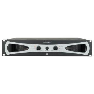 0 DAP-Audio - HP-3000 - 2U 2 amplificatori da 1400W