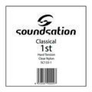 1 SOUNDSATION - Corda per classica MI cantino 0.285 - Hard tension