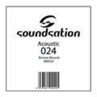 1 SOUNDSATION - Corde per chitarra acustica serie SAW - 0.24