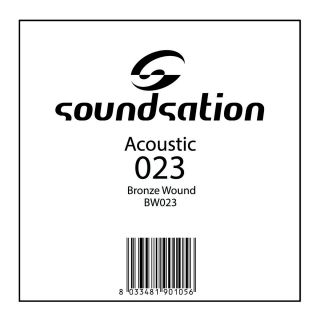 0 SOUNDSATION - Corde per chitarra acustica serie SAW - 0.23