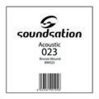 1 SOUNDSATION - Corde per chitarra acustica serie SAW - 0.23