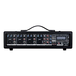0 SOUNDSATION - Mixer amplificato 6 canali con effetto e lettore MP3