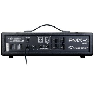 1 SOUNDSATION - Mixer amplificato 6 canali con effetto e lettore MP3