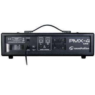 2 SOUNDSATION - Mixer amplificato 6 canali con effetto e lettore MP3