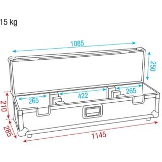 2 DAP-Audio - LED Bar Case - Baule barra LED