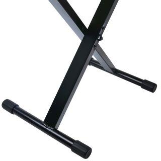 2 SOUNDSATION - Panchetta regolabile in metallo per piano