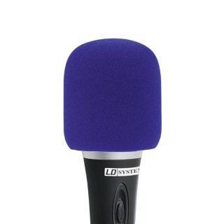 0 LD Systems D 913 BLU - Protezione anti-vento blu per Microfoni