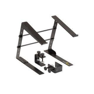 0 SOUNDSATION SLAP-130 - Supporto Laptop Da Tavolo Con Altezza - Larghezza Regolabili E Sistema Di Fissaggio