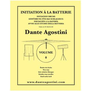 1 Dante Agostini Methode de Batterie Volume 0