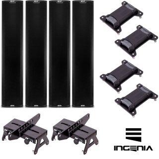 dB Technologies Impianto Audio Attivo 4 x Ingenia IG4T 7200W
