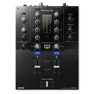 PIONEER DJM-S3 Mixer 2 Ch per Serato