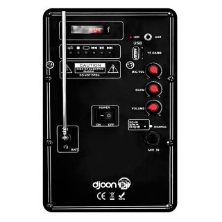 KARMA DJOON - Box a Led da 100W_back