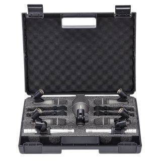 SAMSON DK707 - Kit 7 Microfoni per Batteria_case