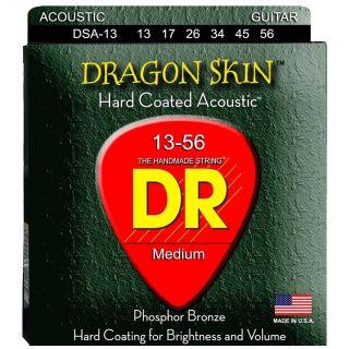 Dr DSA-13 DRAGON SKIN Corde / set di corde per chitarra acustica