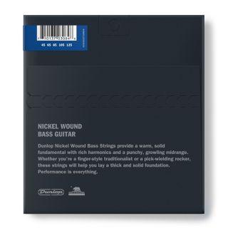 2 Dunlop DBN45125 Nickel Wound Medium