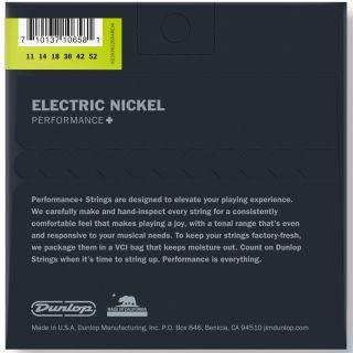Dunlop DEN1152 - Set di Corde per Chitarra Elettrica 11/5202