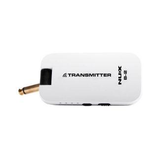 1 NUX B-2W - Sistema Wireless Digitale Per Chitarra (2.4GHz ISM Worldwide) White