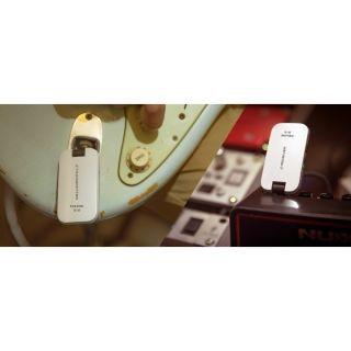 3 NUX B-2W - Sistema Wireless Digitale Per Chitarra (2.4GHz ISM Worldwide) White