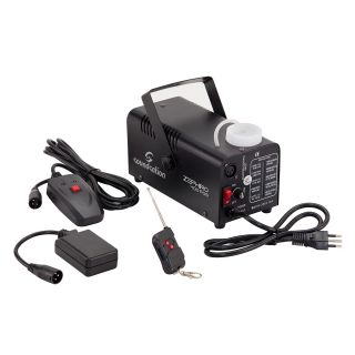 1 SOUNDSATION ZEPHIRO 400 FOG - Macchina Da Nebbia Compatta E Maneggevole Con Comando A Filo E Radiocomando.