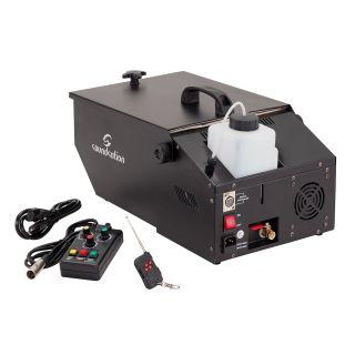 1 SOUNDSATION ZEPHIRO 700 LOW FOG - Macchina Compatta Per Effetto Nebbia A Terra Con Comando A Filo E Radiocomando.