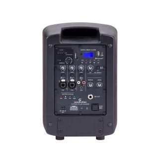 "1 SOUNDSATION HYPER PLAY 6AMW - Sistema PA Portatile 6.5"" Con Radiomicrofono UHF, MP3/Bluetooth E Batteria Ricaricabile"