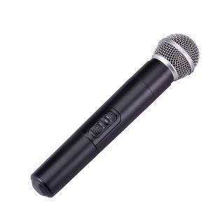 "2 SOUNDSATION HYPER PLAY 6AMW - Sistema PA Portatile 6.5"" Con Radiomicrofono UHF, MP3/Bluetooth E Batteria Ricaricabile"