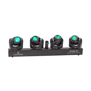 Soundsation Axis IV - Barra 4 Teste Mobili Led 32W RGBW