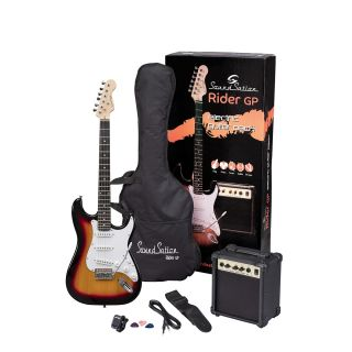 0 SOUNDSATION RIDER GP 3TS - Guitar Pack Elettrico - 3T Sunburst