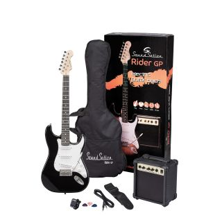 0 SOUNDSATION RIDER GP BK - Guitar Pack Elettrico - Black