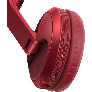 2 PIONEER HDJ-X5BT-R - Cuffie DJ Over-ear Con Tecnologia Wireless Bluetooth® (Rosso)